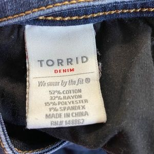 torrid Jeans - Torrid Denim women's slim boot jeans size 30 short
